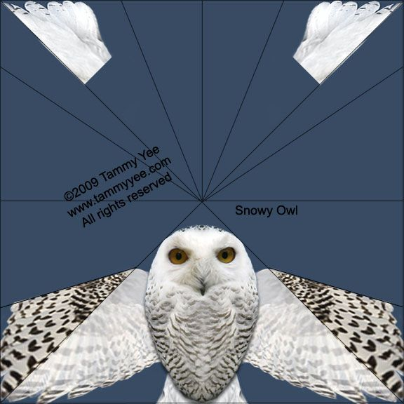 Snowy Owl Origami by Tammy Yee \u2026 Potter Graphics and Printables in