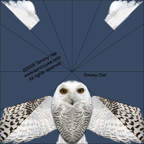 Snowy Owl Origami by Tammy Yee