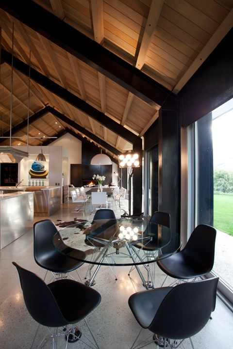 The Queenstown House By Crosson Clarke Carnachan Architects Dining Room