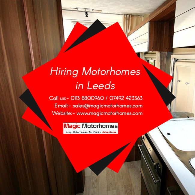 Magic Motor Homes – Offering the Best in Class Motor Home Hire Services in UK Are you planning a trip with your friends from Leeds? Make it the best with Magic Motor Homes. #Hiring_Motorhomes_in_Leeds makes you enjoy the fun of a road trip without having to bother about the hassles of hotel booking. Park the motor home at a place of your choice and enjoy the holiday with your favourite grill and drinks amidst dimmable lights or in open vistas of nature. Visit http://www.magicmotorhomes.com/