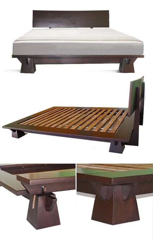 platform beds low platform beds japanese solid wood bed frame - Japanese Platform Bed Frame