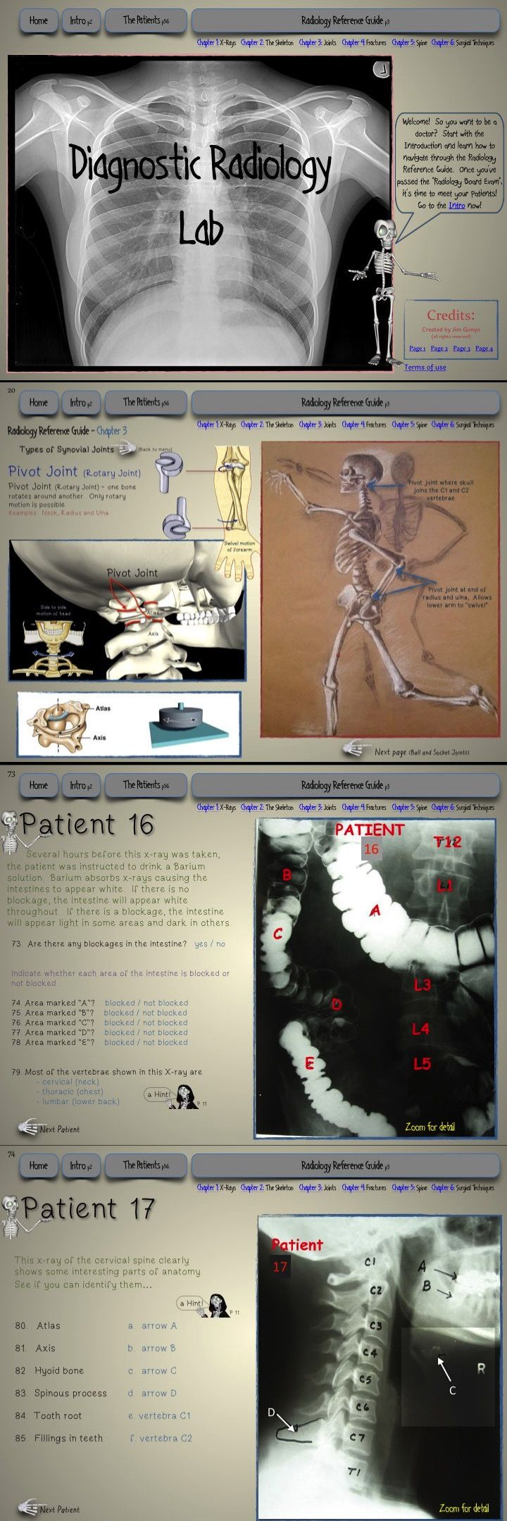 Diagnostic Radiology Lab Interactive science lab for