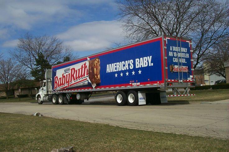 Baby Ruth fleet graphics