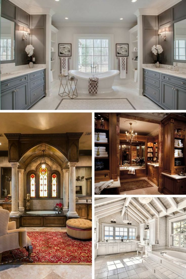 34 large luxury master bathrooms that cost a fortune dream house rh pinterest com