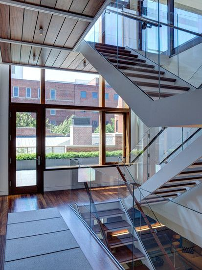 Mid North Residence, Contemporary Staircase, Chicago