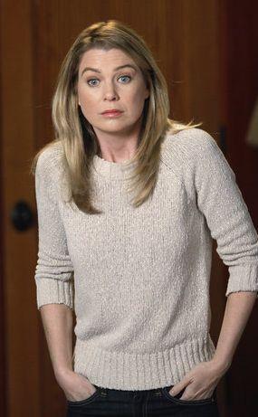 Meredith Grey wore a J.Crew Textured Knit Rib-Trim Sweater on Grey's Anatomy. Shop it: http://www.pradux.com/jcrew-textured-knit-rib-trim-sweater-28519?q=s59