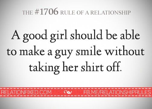 Rule of relationships