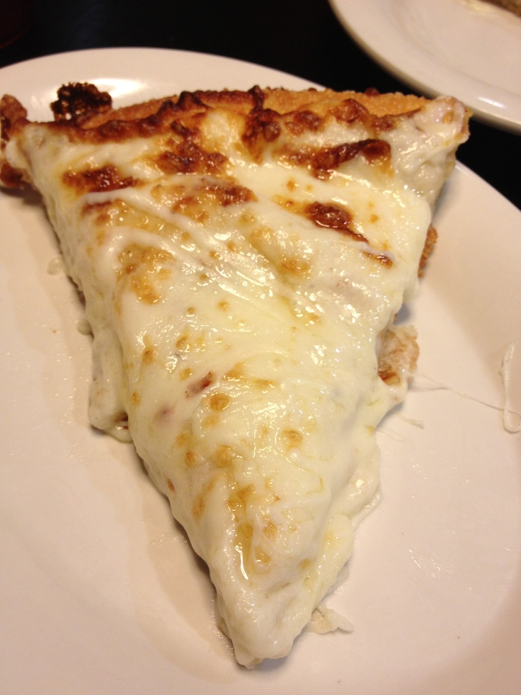 Ultimate cheese lovers pizza slice at Pizza Hut... Delish ...