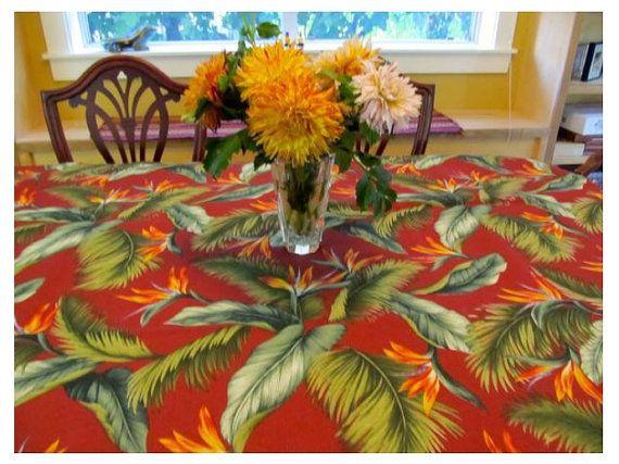 Tablecloth 30 Table Cloth Table Cloths Tropical Table