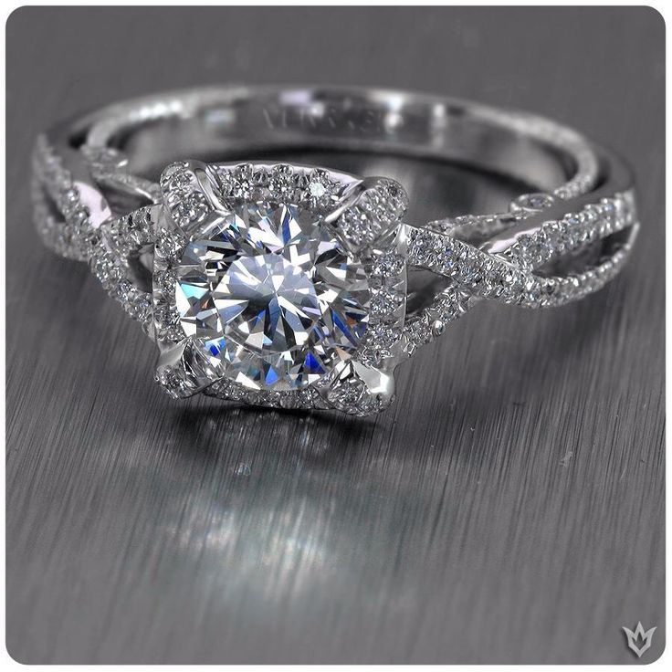 vintage love verragio engagement ring - Verragio Wedding Rings