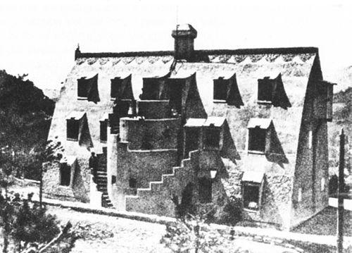 El chalet de Catllaràs (1905), la otra obra de Gaudí en La Pobla de Lillet.