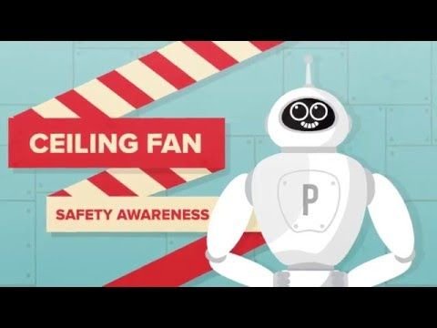 KDK CEILING FAN SAFETY AWARENESS - YouTube