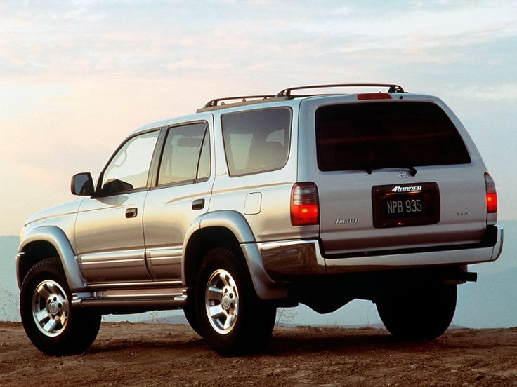 Toyota 4Runner (1998). In memory of one of the best vehicles I ever owned. :(