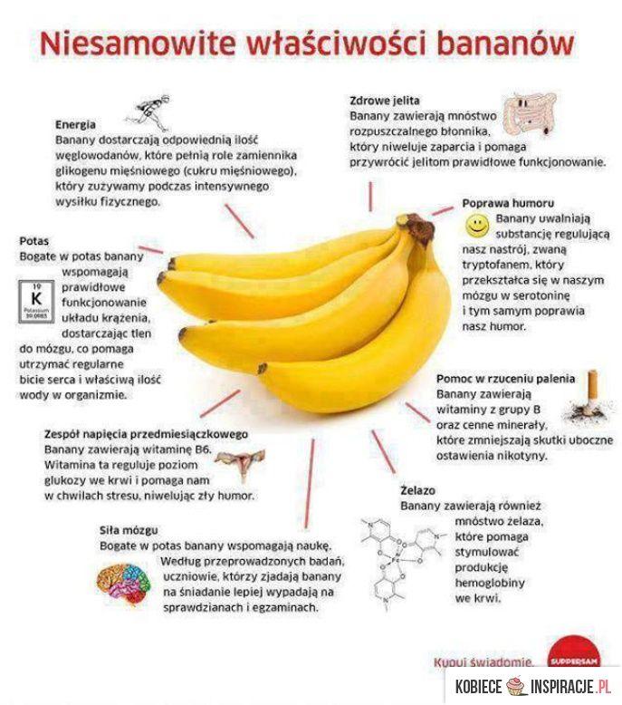 Niesamowite właściwości bananów - Kobieceinspiracje.pl