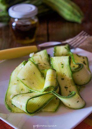Zucchine marinate ricetta senza cottura