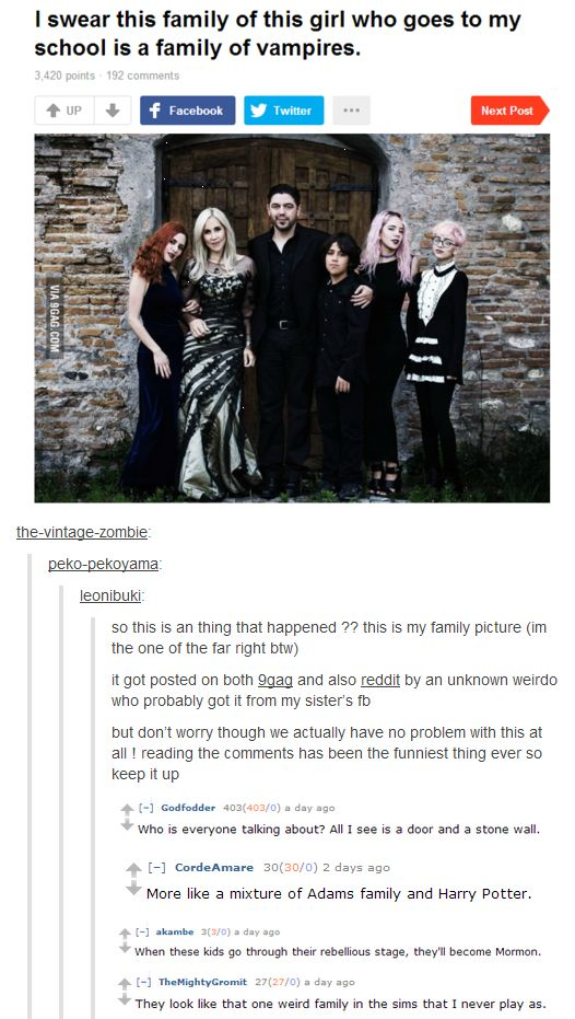 Boy have they never met the whole dysfunctional family downstairs? Like you'd think Persephone would be girly and all but seriously the whole scene is pretty goth