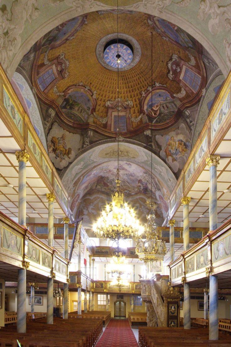 Jelenia Góra, kościół Łaski pw. Podwyższenia Krzyża Świętego | Wirtualne Muzeum Fresków Śląskich