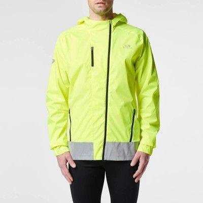 RUNNING Running Running, Trail, Athlétisme - VESTE ELIOBYNIGHT jaune KALENJI - Textile running