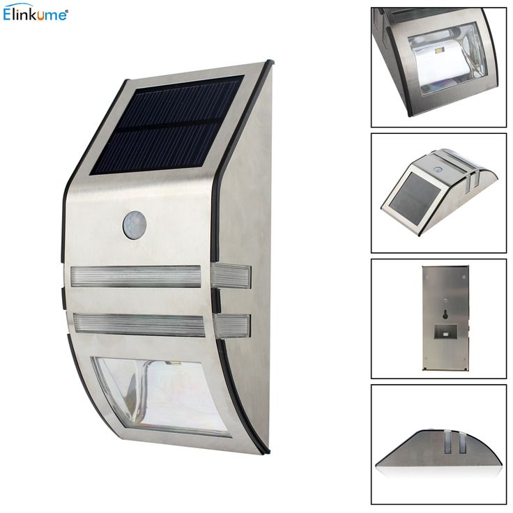2016 New Waterproof 2 LED 120LM PIR Solar Motion Sensor Lamp Garden Yard Outdoor Wall Pathway Balcony Porch Fence Lights