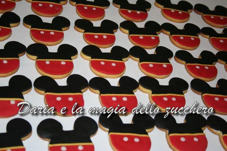 #Biscotti Topolino #Mickey mouse cookies