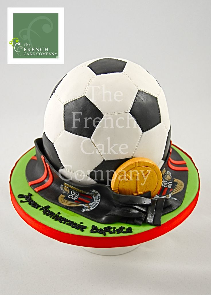 Kit decoration gateau foot