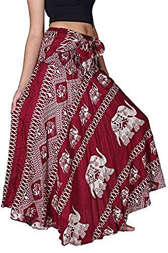 The Original Bangkokpants Made by Fair Trade Manufacturer From Thailand. Thin and soft fabric for wearing comfort,light with Handmade 100% Rayon. US Size 0-12 or XS-L. Beautiful Hippie Bohemian design and Handmade 100%. Wear as a casual day dress or for special occasion