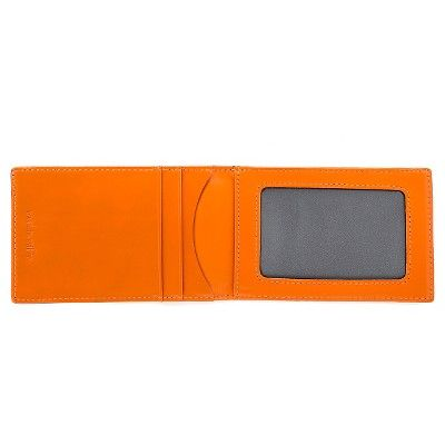 würkin stiffs - Men's Money Clip Wallet Rfid Blocker Orange, Pumpkin