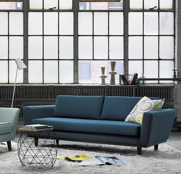 good quality living room furniture%0A Inspirations   GRomano Turquois Sofa Made in Canada Modern Colour Done  Right