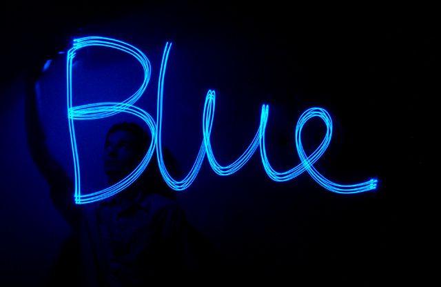 I'm feeling a little blue…
