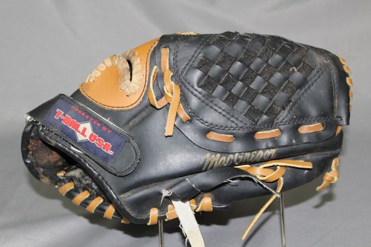 T-Ball USA Glove Mitt Leather Youth T-Ball Baseball Glove Sports Equipment  #MacGregor