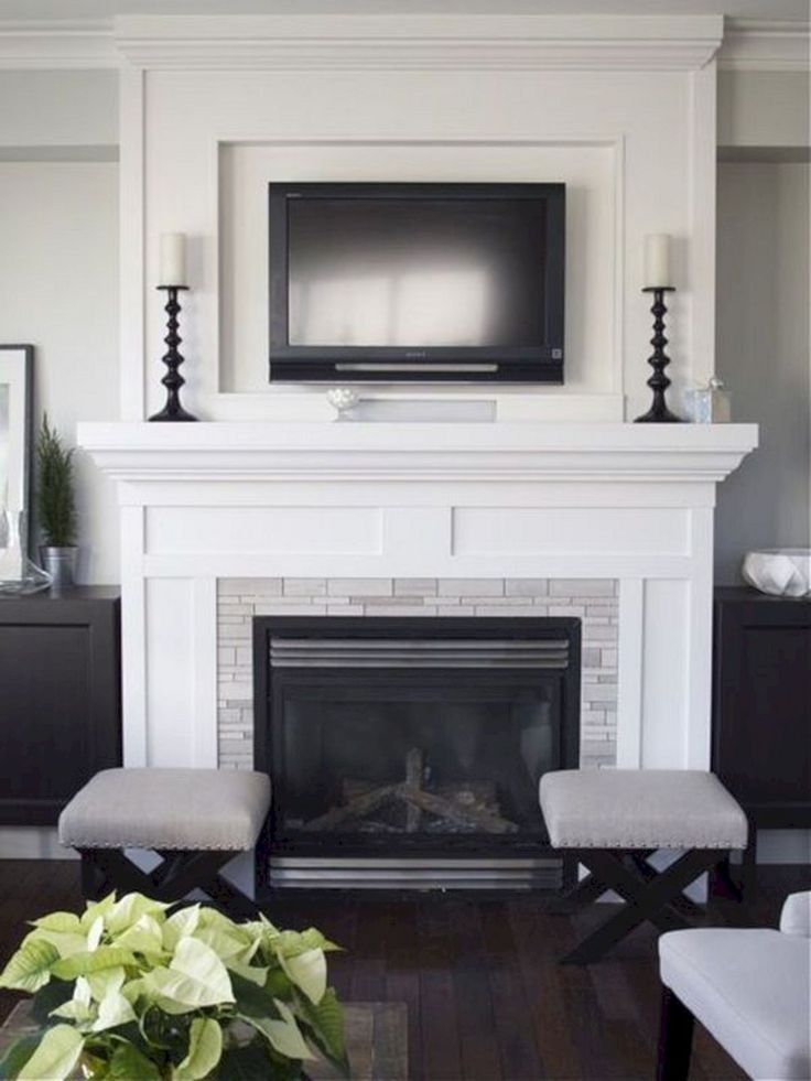219 best fireplaces images on Pinterest Fireplace built ins