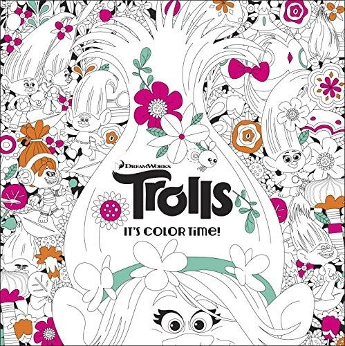 Trolls It's Color Time - DreamWorks Animation's TROLLS is an irreverent comedy extravaganza with incredible music! From the genius creators of SHREK, TROLLS stars Poppy, the optimistic leader of the Trolls, and her polar opposite, Branch. Together, this unlikely pair of Trolls must embark on an adventure that takes them far beyond the only world they've ever known. The detailed art of the Trolls' magical world will provide hours of coloring fun for boys, girls, and adults of all ages!