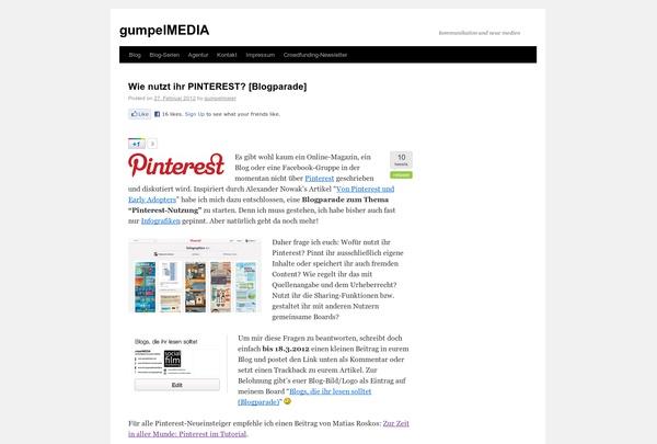 http://gumpelmaier.net via @url2pin