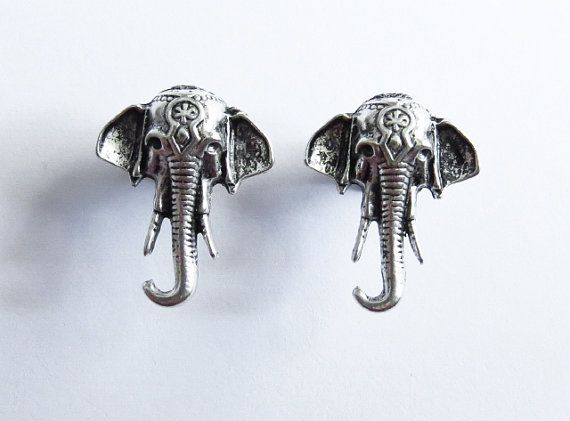 6g 4g 2g 0g / Elephant Head / Plugs Gauges Stretchers Earrings / Stretched Gauges Ears / Surgical Stainless Steel Tunnel