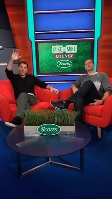 Mike and Mike are taking your NFL Draft questions in the Scotts Lawn Care Green Lounge!
