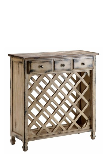 dining room: Dining Rooms, Wine Racks, Living Room, Wine Server, Distressed Finish, Wine Cabinets, Bottle Holders, Cabinets Construction, 3 Drawers