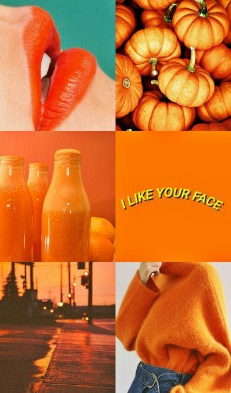 #orange #aesthetics
