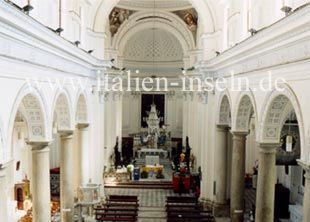 Mutterkirche in Licata - Provinz Agrigento auf Sizilien http://www.italien-inseln.de/agrigento/licata.html