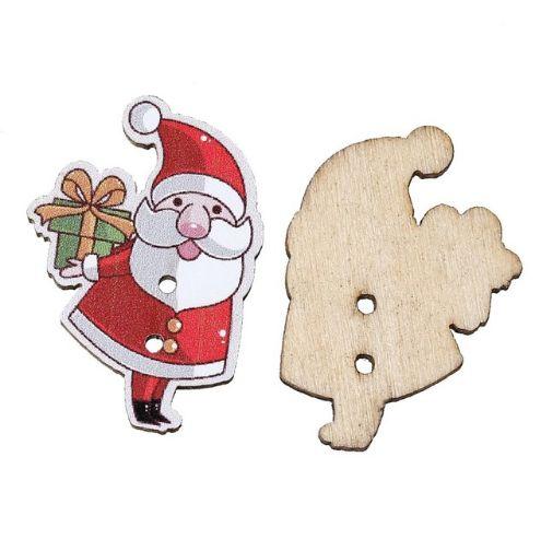 Деревянные пуговицы Дед Мороз. Нашла здесь - http://ali.pub/aihpb
