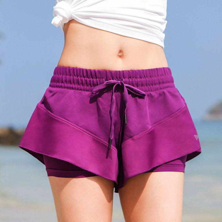 Style Fast Drying Polyester Fibre Shorts Girl Wowen Cute Kawaii Take a walk Trousers