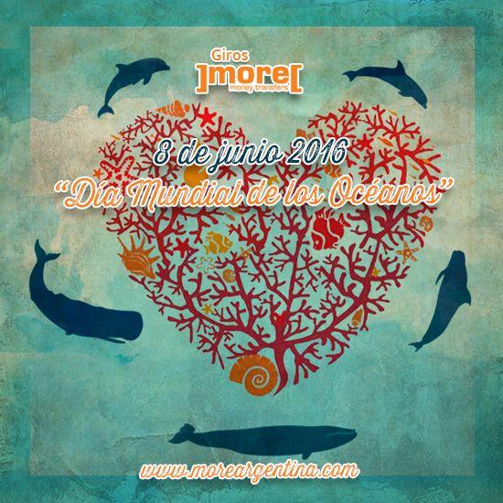 🌀 Recordemos porque hoy se festeja el 'Día Mundial de los #Océanos' ╚ Son los pulmones de nuestro planeta, que generan la mayoría del #oxígeno que respiramos. ]more[ Océanos sanos, un #PlanetaSano.