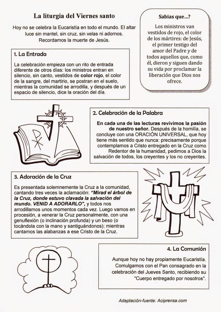 El Rincón de las Melli: La liturgia del Viernes Santo