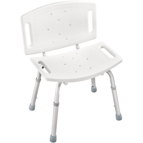 49 97 Peerless Adjustable Tub And Shower Chair White
