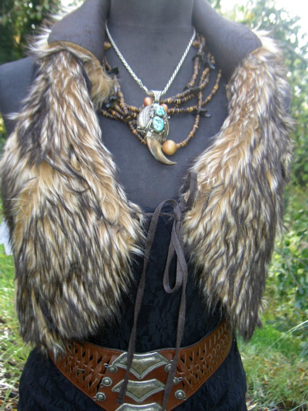 Make from a CO AT from real fur and/or leather!