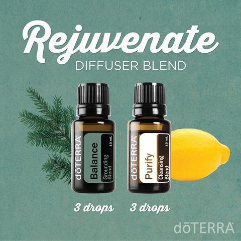 """Rejuvenate"" doTerra Essential Oil Diffuser Blend"