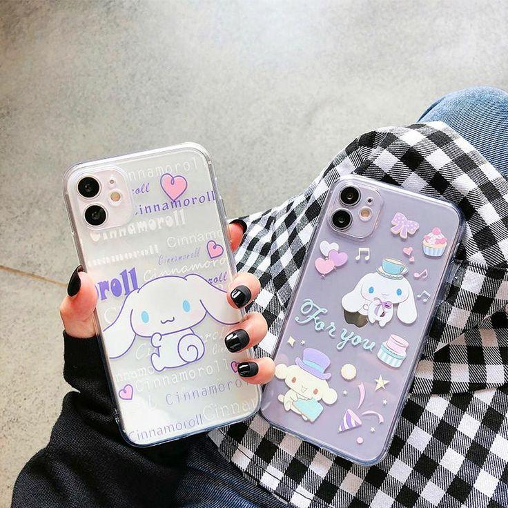 Cute cinnamoroll phone case for iphone 77plus88pxxs