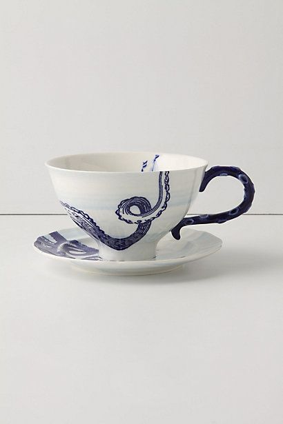 From the Deep Mug and Saucer...I need a good (and pretty) mug. LOVE this one. Thank you Angela