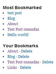 Best Bookmark manager WordPress plugin for users to bookmark content in your blog