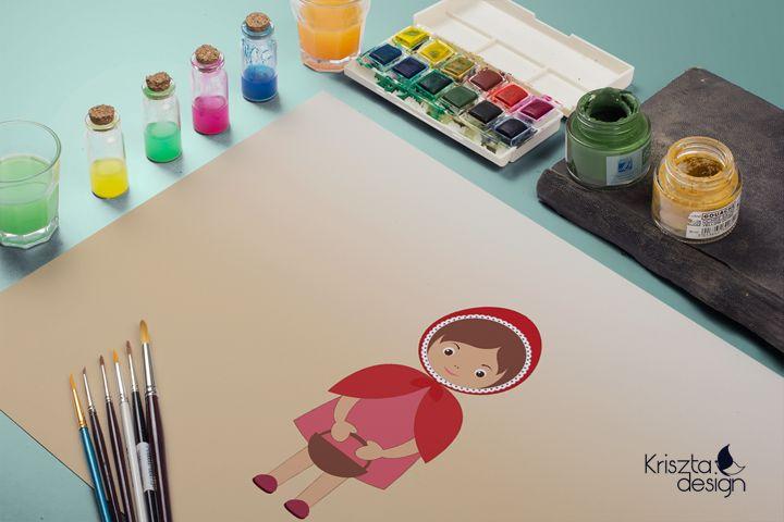Little Red Riding Hood, based on N. Dolotko's tutorial