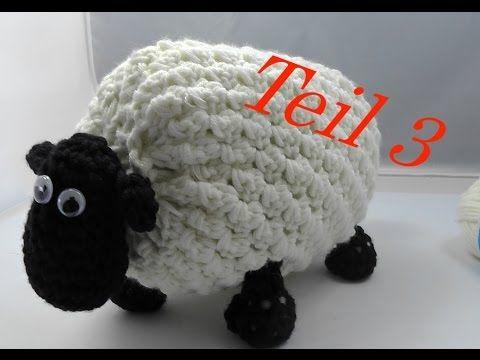 SHIRLEY von SHAUN das Schaf Häkeln mit Veronika Hug - Teil 1 Hufe - YouTube